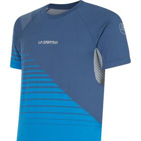 La Sportiva Complex T-Shirt Col Ras-Du-Cou Homme, opal/aquarius